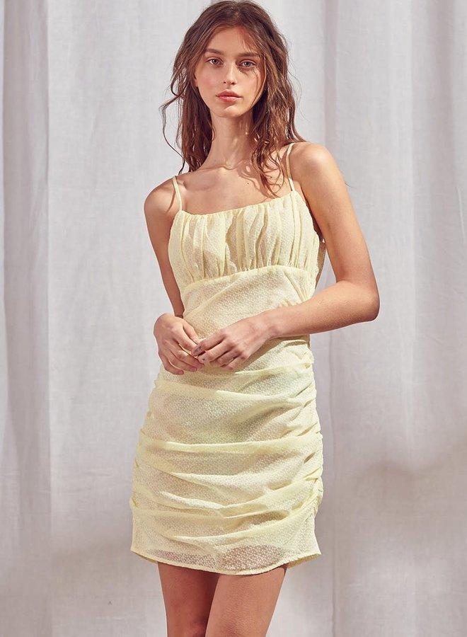 Célie Ruched Dress