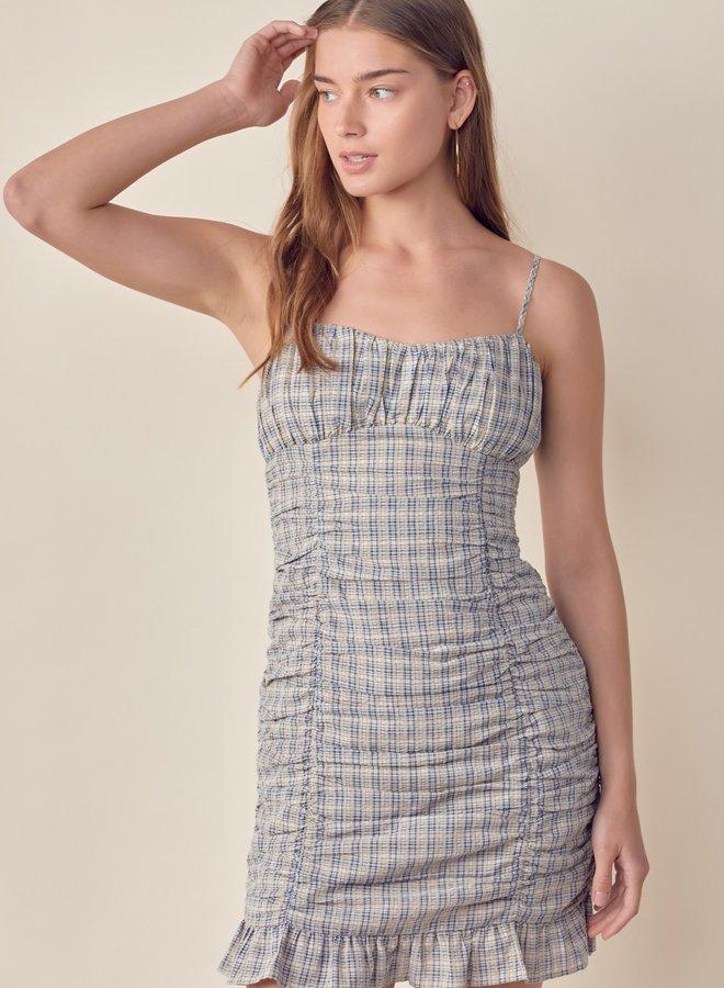 Ginger Plaid Mini Dress