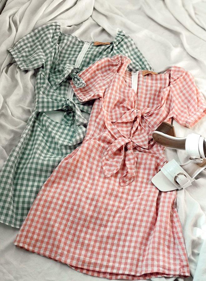 Jenny Gingham Dress