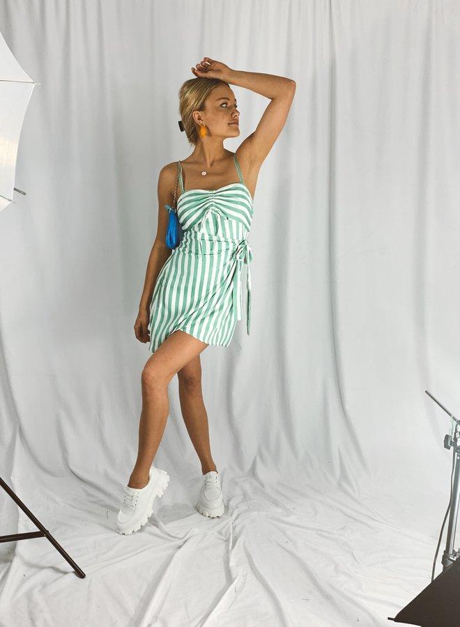 Groovy Girl Stripe Dress