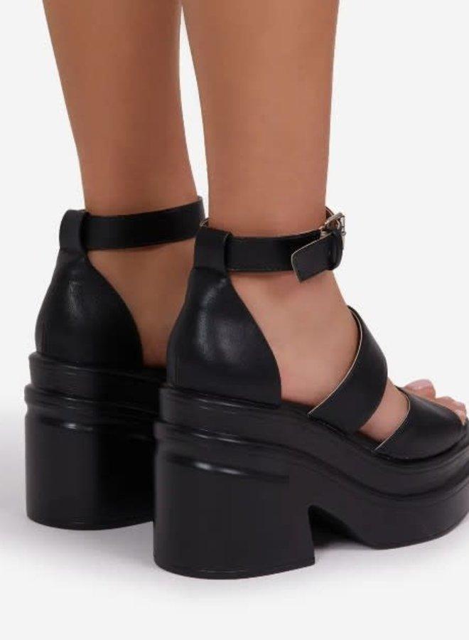 Nerve Platform Sandals