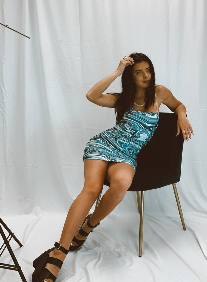 Blueberry Swirl Dress
