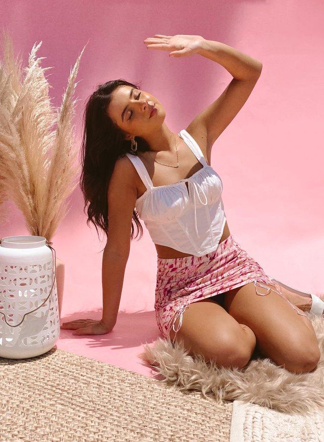 Rasberry Swirl Skirt