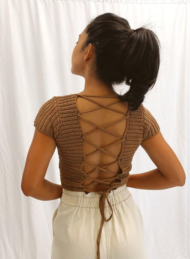 Evalina Crossback Top