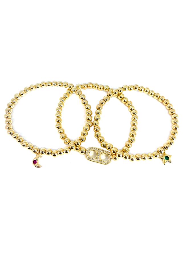 Charm Stack Bracelet Set