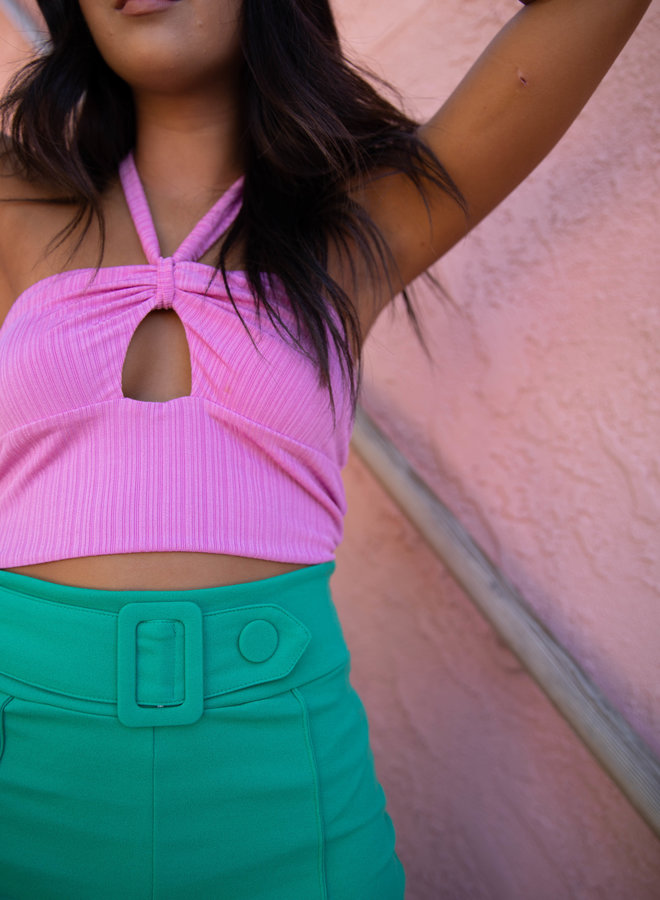 By Your Side Crop Top