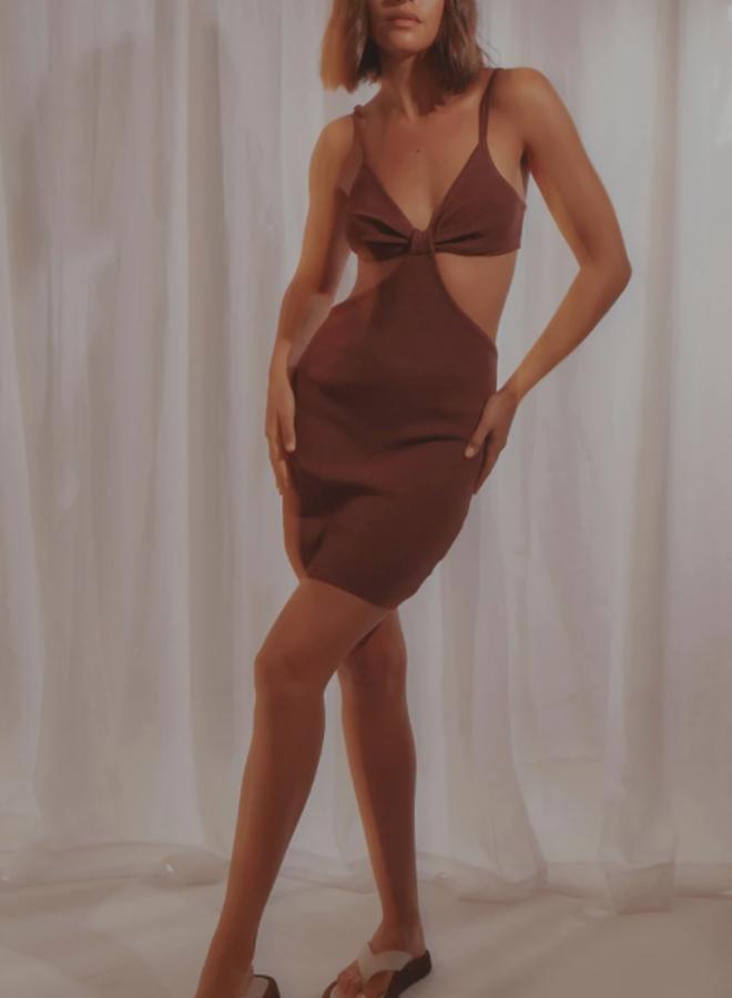 Iman Knit Mini Dress
