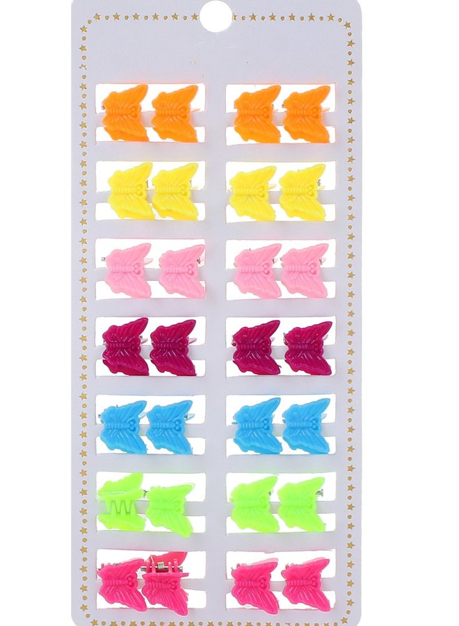 Butterfly Clip Pack