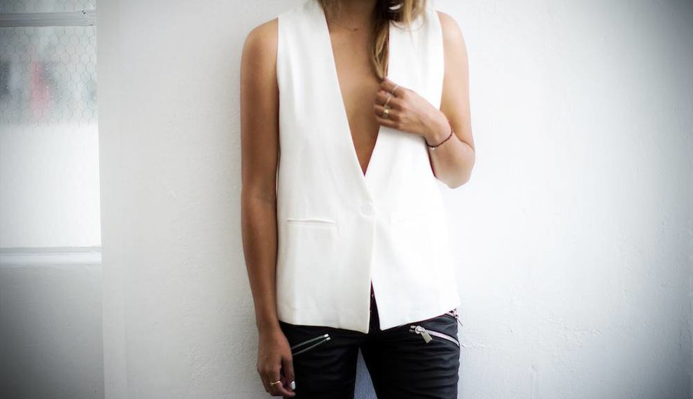 Kate: The One & Only Sleeveless Blazer