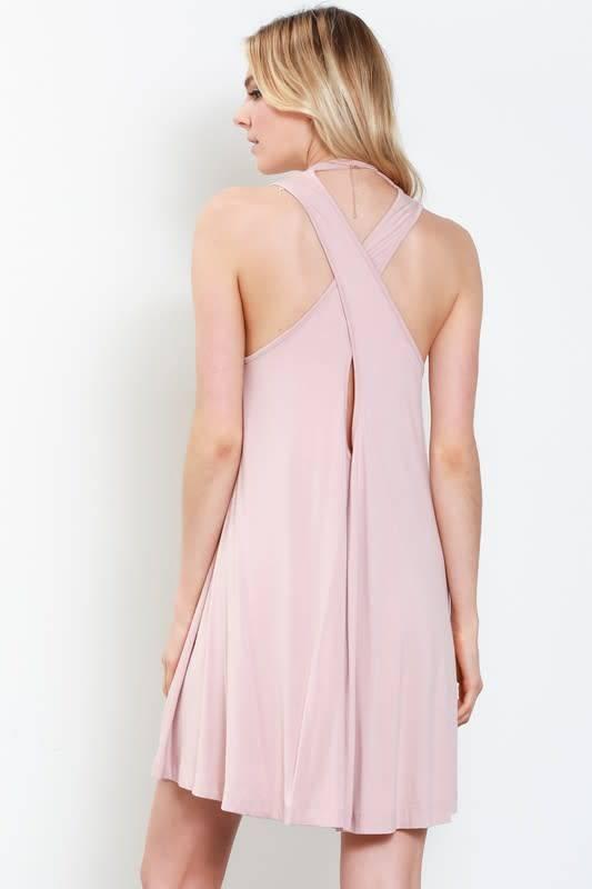 Wishlist Marsha Crossback Tee Dress