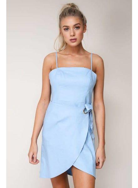 Blue Blush Addie Dress