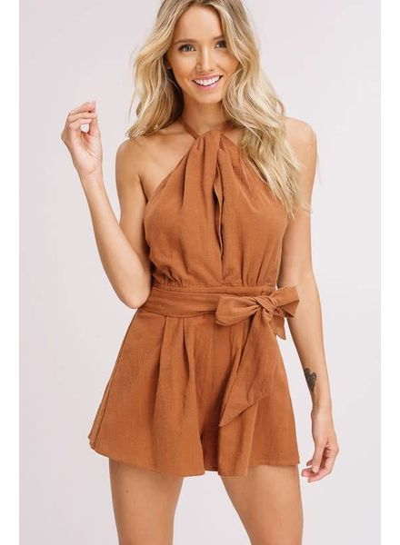 Listicle Leith Halter Romper