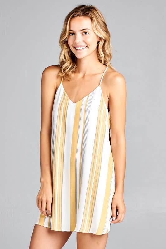 Style Rack Stripe Tank Dress