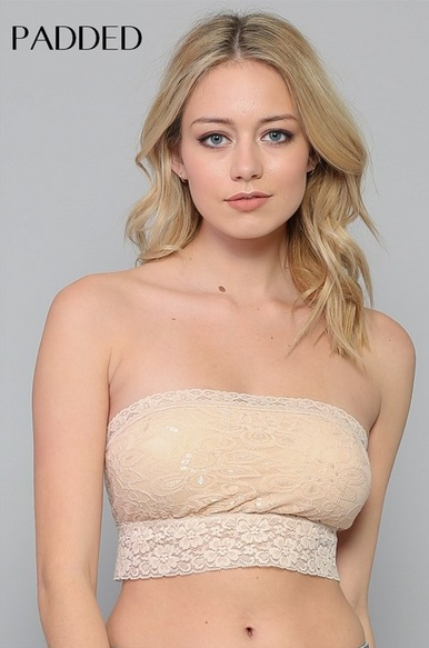 By Together Lace Bandeau