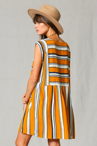 By Together Olivia Stripe Dress