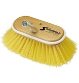 Shurhold SHURHOLD 6'' DECK BRUSH MED. W/ YELLOW POLY. BRISTLES 955