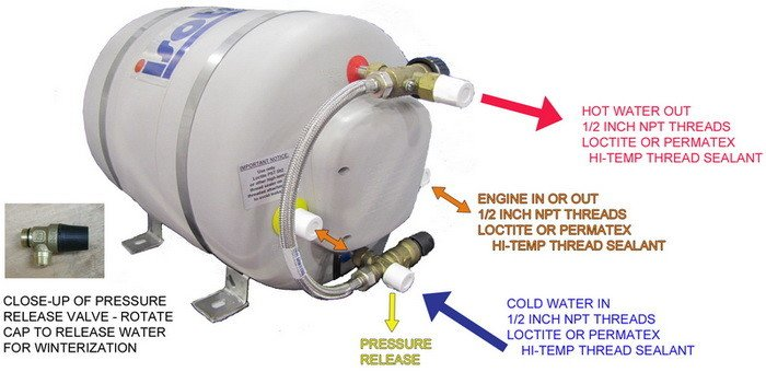 Isotherm ISOTEMP SPA WATER HEATER