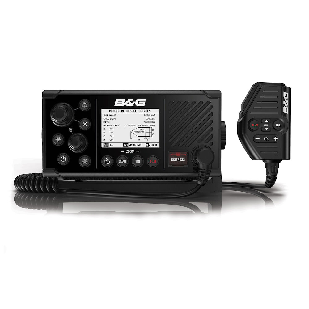 B&G B&G V60-B marine VHF radio with AIS transponder