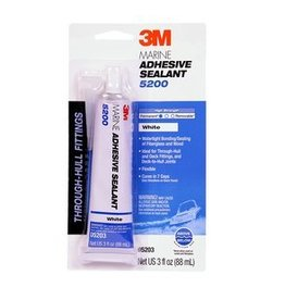 3M Products 05203 3M 5200 WHITE 3OZ TUBE 5203