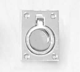 Victory RING PULL, CHROME BRASS AA51023C
