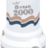 Rule RULE 5 YEAR 2000 GPH PUMP 12V 09