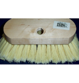 Trem/Brewers DECK BRUSH 6-3/4 POLY AQUA SOFT BRISTLES 11997
