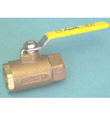 "Trem/Brewers BRONZE 1"" BALL VALVE"