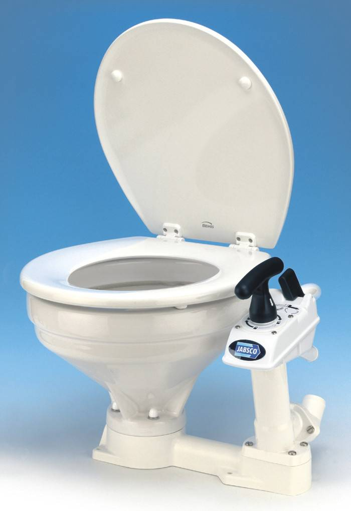 ITT/Jabsco ITT MANUAL TOILET- LARGE BOWL 29120-3000