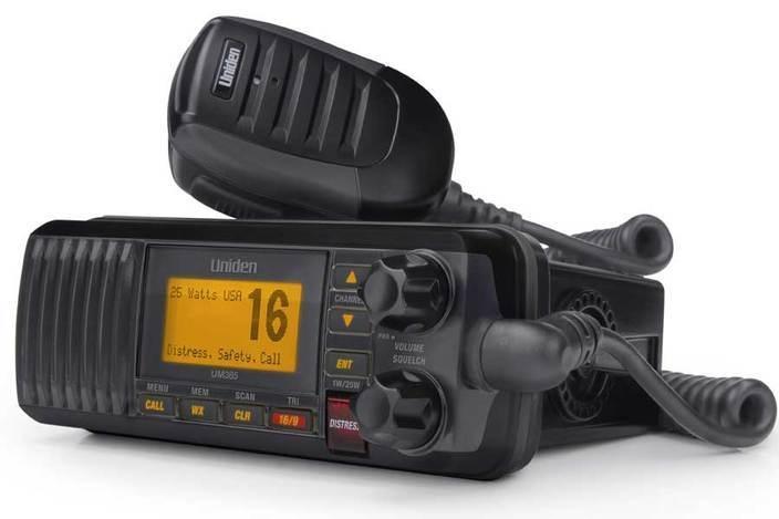 Uniden UNIDEN FIXED VHF CLASS-D VHF RADIO UM-385BK