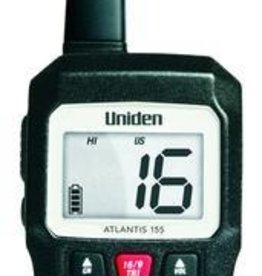 Uniden UNIDEN HAND-HELD VHF RADIO-BLACK ATLANTIS 155