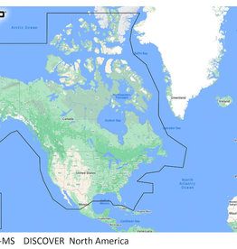 CMAP C-MAP DISCOVER North America