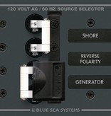 Blue Sea BLUE SEA PANEL AC BSS8032 SOURCE SELECTOR 30A