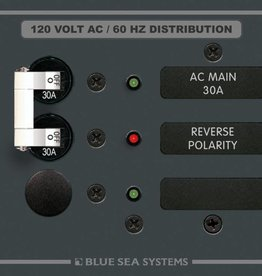 Blue Sea BLUE SEA PANEL AC BSS8029 MAIN/1 POS. 30 AMP