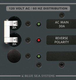 Blue Sea BLUE SEA PANEL AC BSS8029 MAIN/1 POS. 30 AMP