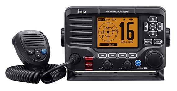 ICOM Icom M506 AIS/N2K VHF DSC Fixed Mount Radio