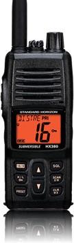 Standard Horizon STANDARD HORIZON HANDHELD VHF HX380S