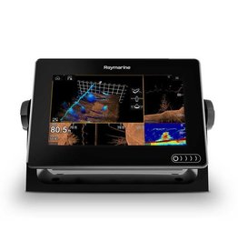 Raymarine AXIOM 7 RV Multifunction Display with integrated RealVision 3D, 600W Sonar, RV-100 transducer and Navionics+ US & Canada Charts