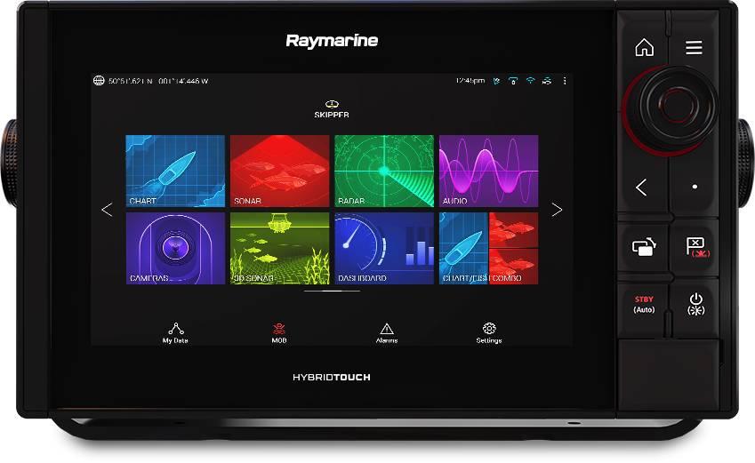 Raymarine AXIOM Pro 9 RVX RealVision 3D Sonar and Nav+ US & Canada