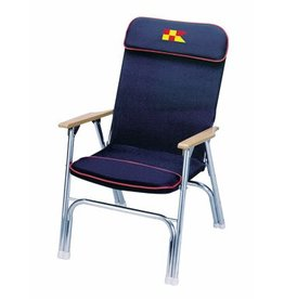 GARELICK GARELICK DECK CHAIR DESIGNER SERIES - NAVY BLUE 35029-62