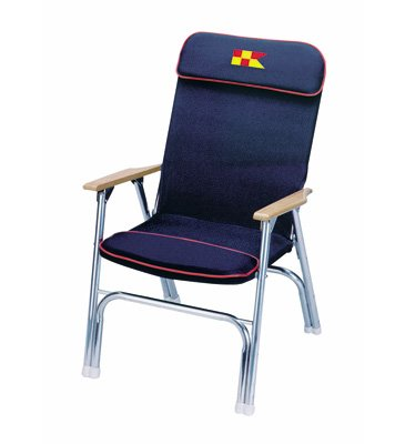 Garelick Deck Chair Designer Series Navy Blue 35029 62