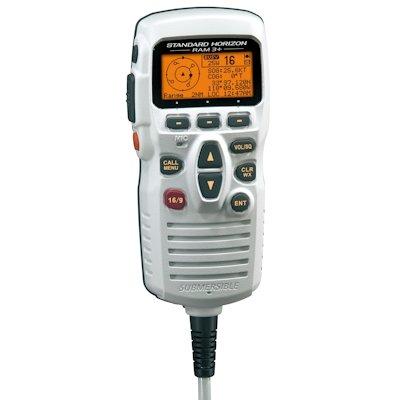 Standard Horizon STANDARD HORIZON REMOTE MIC - VHF - WHITE CMP31