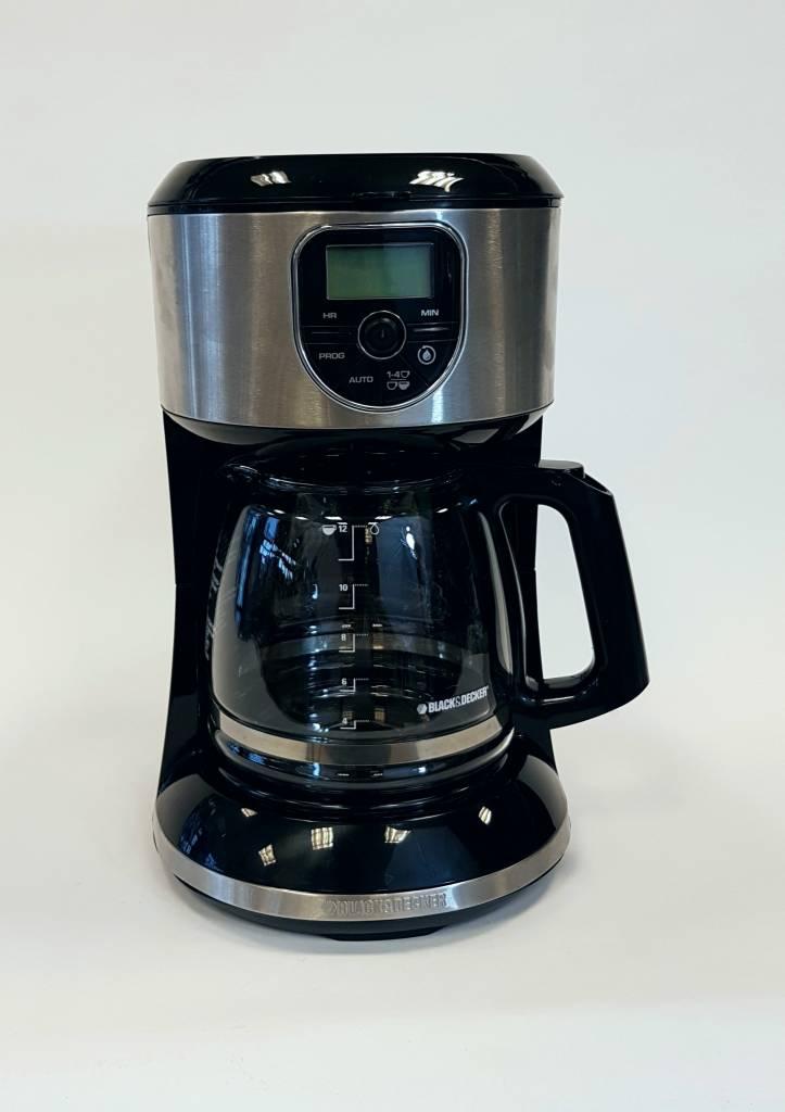De Cafetière 12 amp;deckerLiq Cm4000sc Tasses Programmable Black 1JclKF