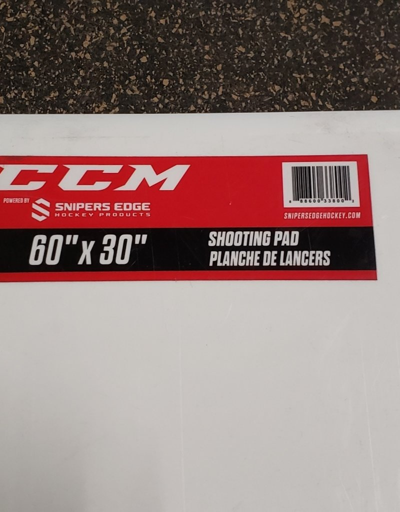CCM SHOOTING PAD LARGE