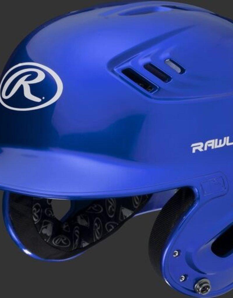 RAWLINGS Rawlings R16 Velo Helmet - 1-Tone Clearcoat - SR-Royal