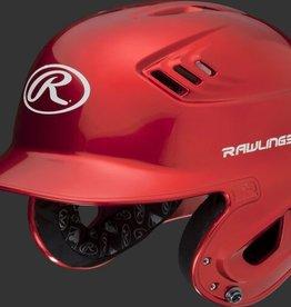 RAWLINGS Rawlings R16 Velo Helmet - 1-Tone Clearcoat - JR-Scarlet