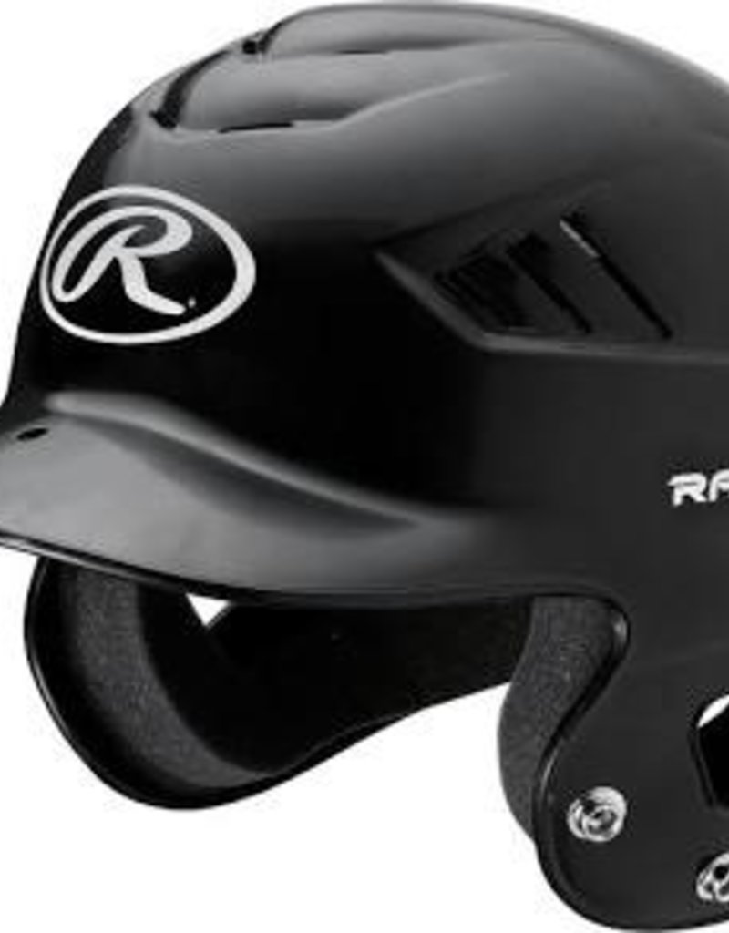 RAWLINGS Coolflo T-Ball Batting Helmet Black