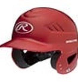 RAWLINGS Coolflo High School/College Batting Helmet Scarlet