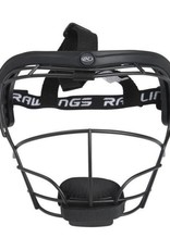 RAWLINGS Softball Fielders Mask Black RSBFM-B