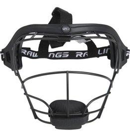 RAWLINGS Softball Fielders Mask Black RSBFM-B