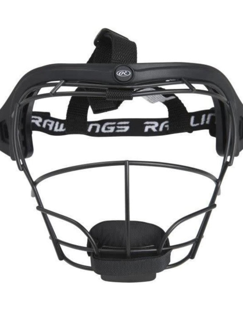 RAWLINGS Softball Fielders Mask Black RSBFMJ-B